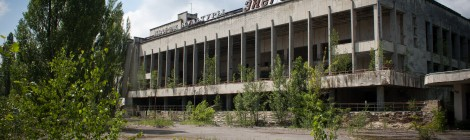 Touring Chernobyl and Pripyat (inside buildings)