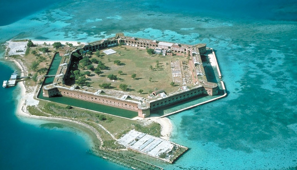 Fort Jefferson at Dry Tortugas NP